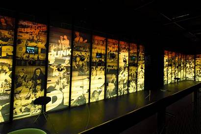 Exhibition Museum Interactive Timeline Ragnarock Heavy Designed