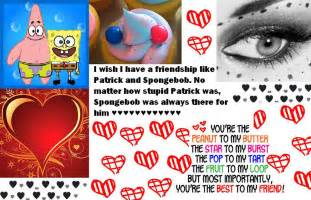 Spongebob and Patrick Friendship Quotes
