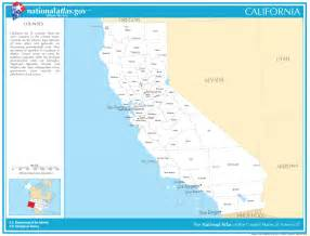 California State Map with Counties