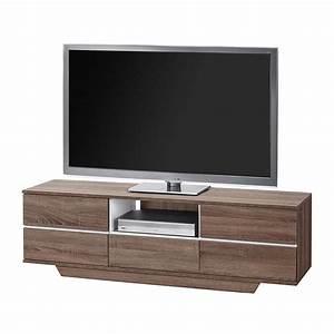 Tv Bank Grau : tv bank mayla sonoma eiche dekor grau hochglanz ~ Indierocktalk.com Haus und Dekorationen