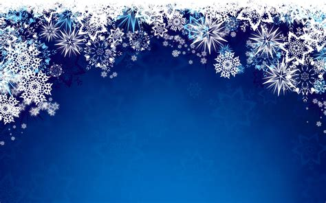 Blue Snowflake Background by Snowflake Background Deerfield Library