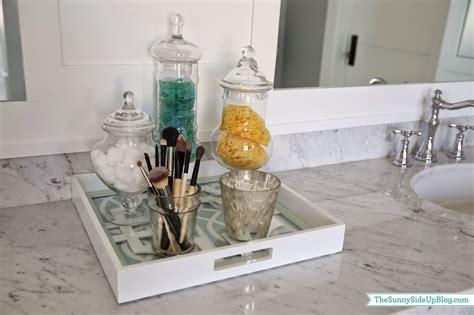 organizing ideas for bathrooms master bathroom decor the side up