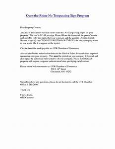 best photos of no trespassing notice letter no trespass With trespass notice template