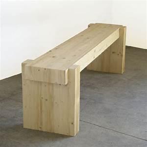 Banc Exterieur Design : banc en bois banc contemporain et design fabriqu en france banc design sur mesure travail ~ Teatrodelosmanantiales.com Idées de Décoration