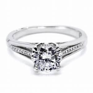 Tacori Platinum Simply Tacori Engagement Ring 2601RD7 | TQ ...