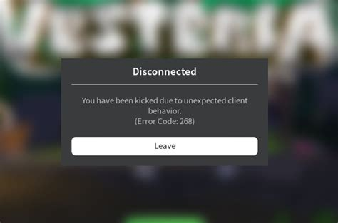 roblox kicks    games error code  engine