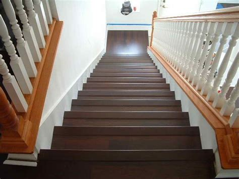 hardwood stairs installation flooring installing laminate flooring on stairs with hardwood material installing laminate