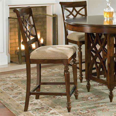 standard furniture woodmont counter height stool in cherry