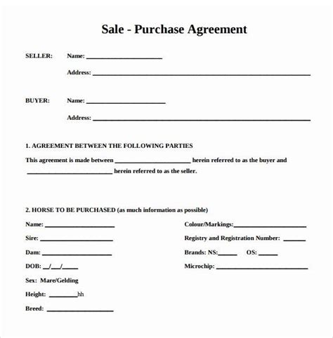 printable vehicle purchase agreement elegant purchase