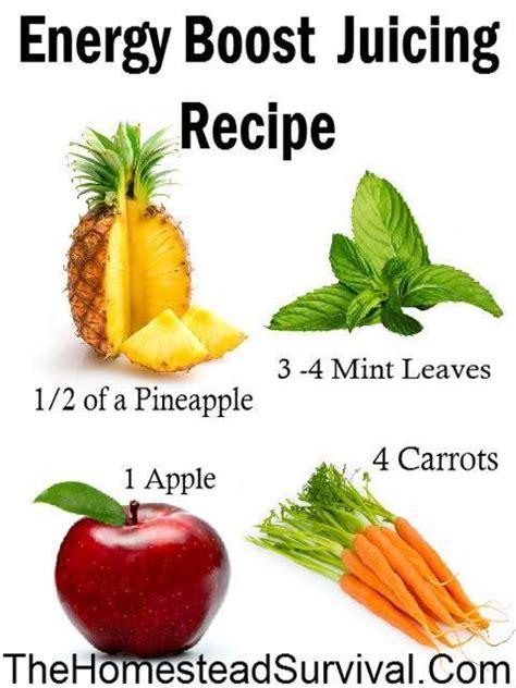energy boost healthy juice recipes recipe juicing drinks juicer coffee morning smoothies boosting juices alternative drink detox health benefits vegetables