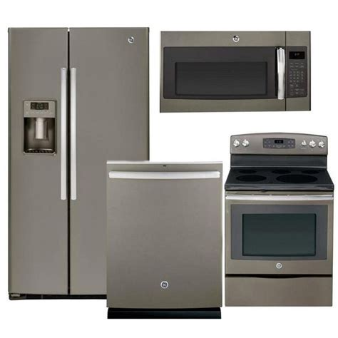 GE Slate Electric Kitchen Package