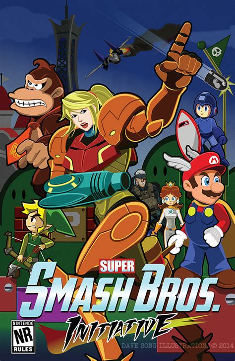 Avenging Smash Bros By Davesong On Deviantart