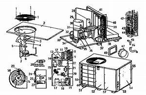 Coleman Evcon Bphh0481ba Central Air Conditioner Parts