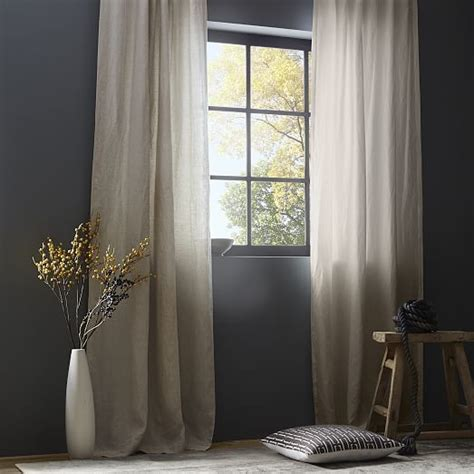 17 best ideas about linen curtains on white