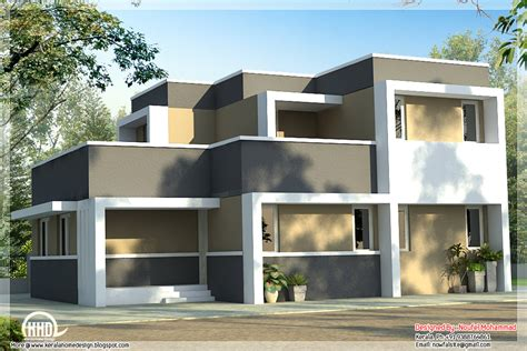 Economical free house plan of a 2 storied House - Kerala
