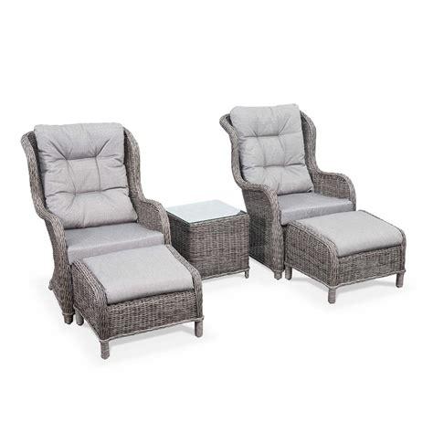 chaises et fauteuils de jardin fauteuil de jardin relax extérieur repose pied guiluce
