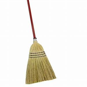 Shop Quickie - Clean Results Corn Stiff Upright Broom at
