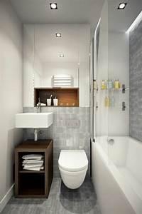 comment amenager une salle de bain 4m2 With carrelage adhesif salle de bain avec eclairage led orchidee
