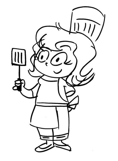 happy chef cooking cartoon photo credit deviant art