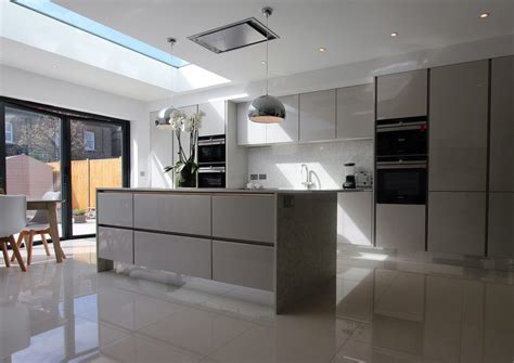 Handle less German Kitchen Raynes Park   Richmond Kitchens