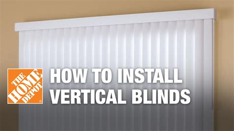 how to blinds how to install outside mount vertical window blinds