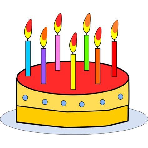 clipart compleanno bambini disegno di torta buon compleanno a colori per bambini