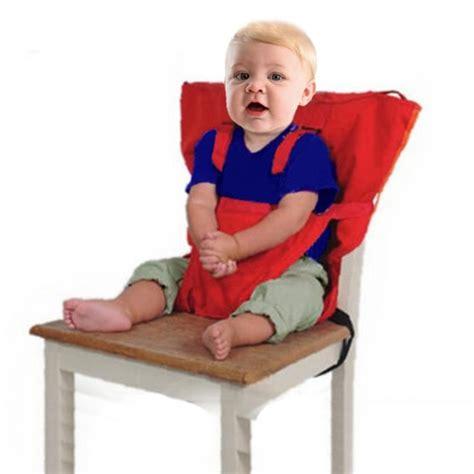 chaise haute de voyage highdas tissu de voyage portable chaise haute siège d