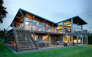 Haus Aus Holz : ein haus aus holz und stahl lovedesigns ~ Buech-reservation.com Haus und Dekorationen