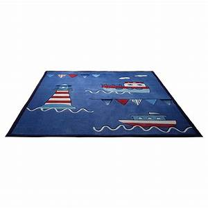 tapis esprit home enfant captains world bleu 120x180 With tapis enfant esprit