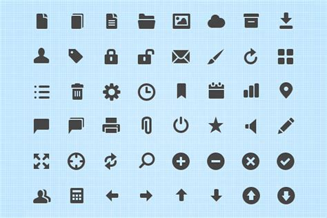 70+ Free Icon Sets You Should Have In Your Bookmarks