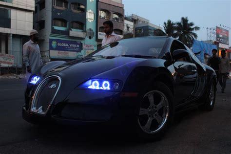 Maruti Suzuki Esteem converted into a Bugatti Veyron