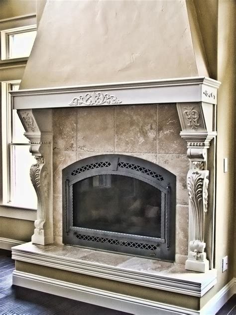 pilaster corbel fireplace leg fdcb