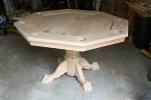 Octagon Poker Table (Part 5: Finishing It Up) Brian Nelson