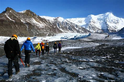 Whether that's hiking, camping or white water rafting, you're able to do these things without going inside. Hiking Iceland's Skaftafell Glacier   Camping in Iceland