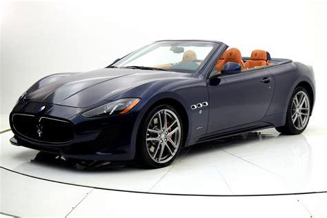 New 2017 Maserati Granturismo Convertible Sport For Sale