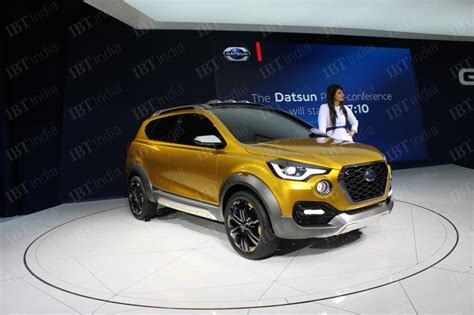 Datsun Go 2019 by Datsun Go Cross May Come To India In 2019 Likely To Be