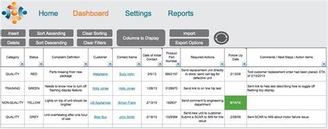 wt customer complaint tracking