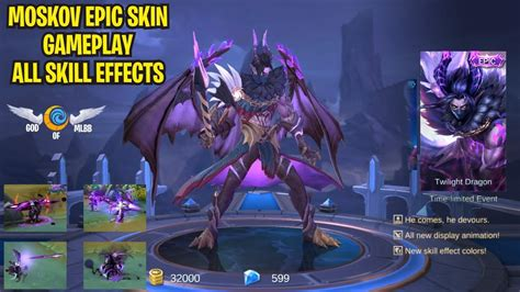 Moskov Epic Skin (twilight Dragon) Gameplay
