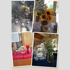 Table Decorations For Western Themed Party  Party Ideas