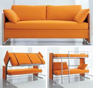 Sofa converts to bunk beds craziest gadgets for Sofa becomes bed