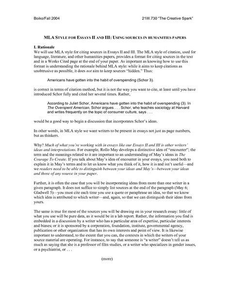 mla format essay essay mla citation