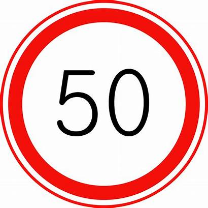 Speed Limit Sign Maximum Traffic Svg Korean