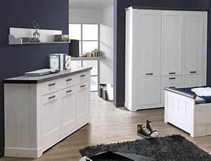 Sideboard Weiß Grau : kommode gaston 5 weiss grau 175x93 cm schneeeiche anrichte sideboard wohnbereiche esszimmer ~ Orissabook.com Haus und Dekorationen