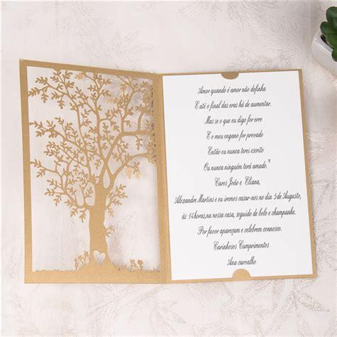 Baum Laserschnitt Hochzeitskarte Klappkarte in Braun WPL0033 [WPL0033]   ?0.00 : Günstige