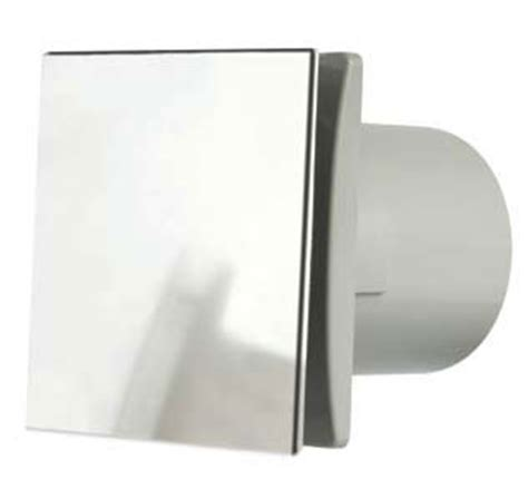 Kitchen Extractor Fan Light Cover by Manrose Rtdeco 150mm 6 Quot Chrome Extractor Fan Decorative