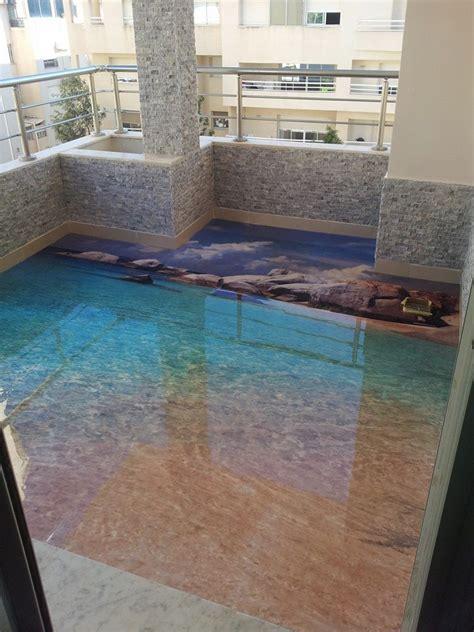 resine sol salle de bain sol resine 3d meubles et d 233 coration tunisie