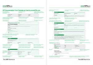 Kpi Report Sle Format by Performance Magazine Why Use Kpi Documentation Forms