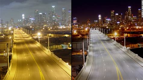 are led street lights bad cities changing streetlights to improve health cnn