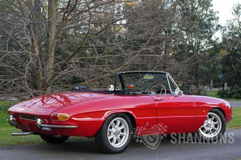 Alfa Romeo Spider Duetto sold alfa romeo duetto 1600 spider auctions lot 22