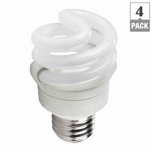 Philips w equivalent soft white spiral cfl light bulb